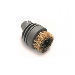 Petite brosse ronde laiton pour lance 919/909